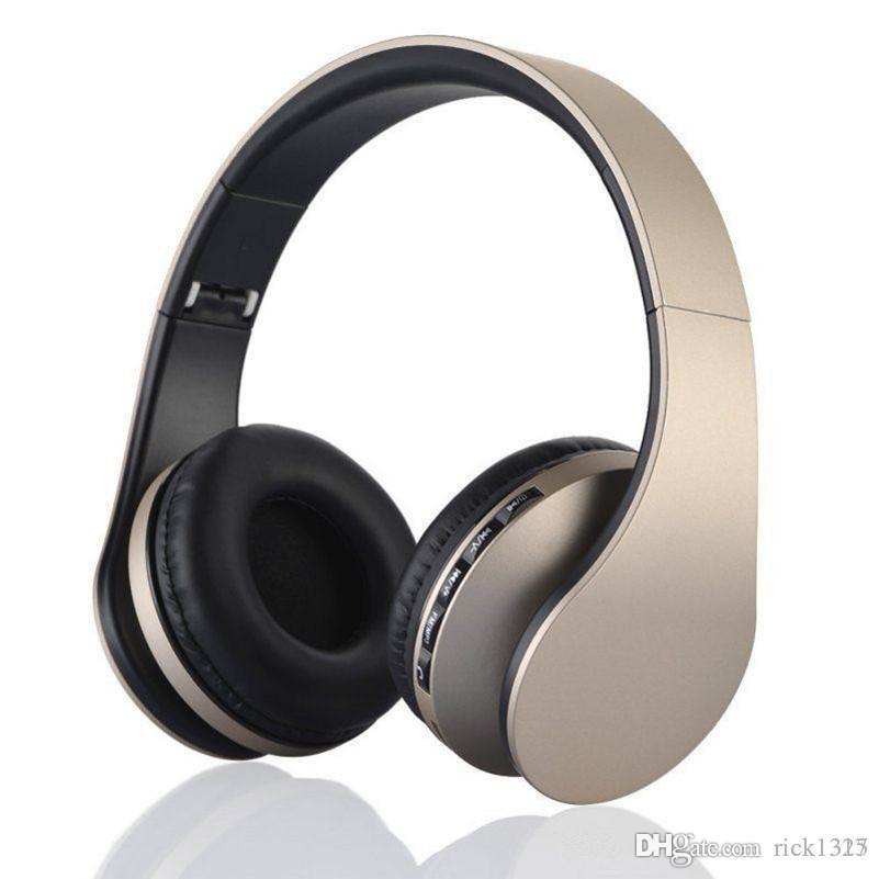 A ++++ + 품질 3.0 무선 헤드폰 스테레오 블루투스 헤드셋 이어폰 이어폰 이어폰 이어폰 아이폰 용 TF 카드 삼성 크리스마스 선물