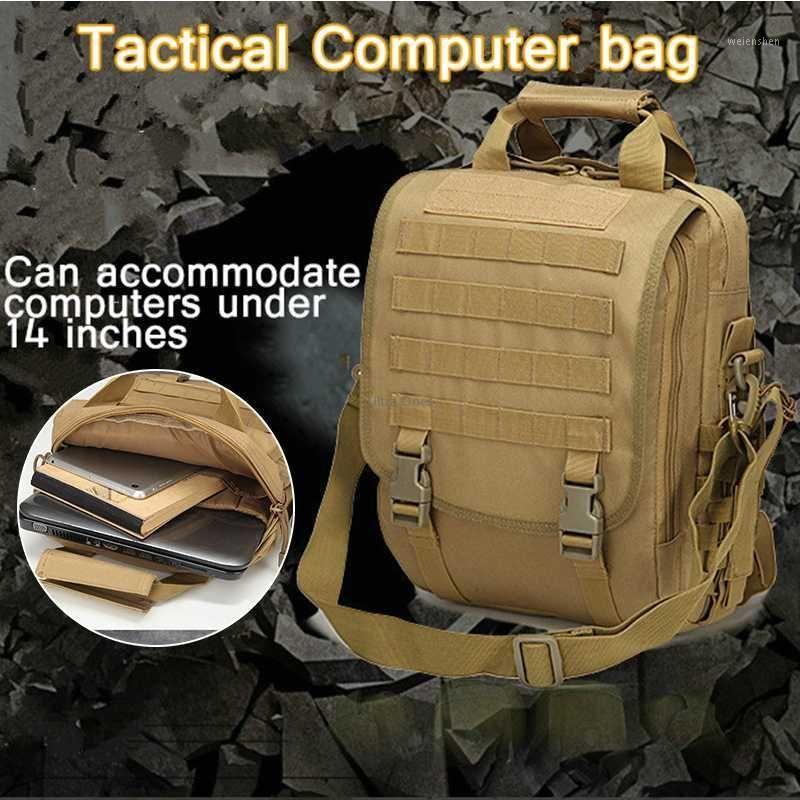 """Multifuncional 14 """"sacos de laptops sacos de mensageiro ao ar livre para 14 '' laptop à prova d 'água caça trekking caminhadas crossbody1"""