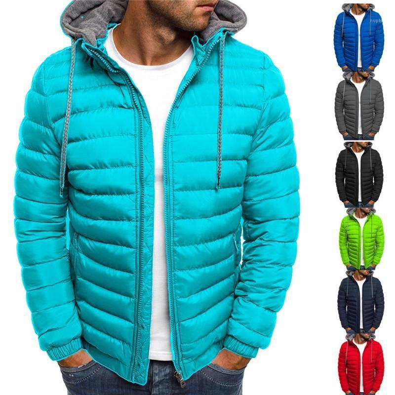 Reißverschluss Strickjacke Dicke Langarm Kapuze Oberbekleidung Kleidung Beiläufige Lose Männer Jacken Solide Farbe Winter Warme Mäntel Herren