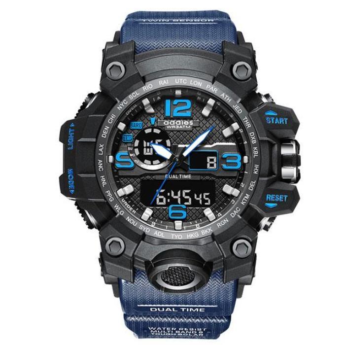 Erkekler Spor Saatler Moda Stil Büyük Arama Dijital Askeri Su Geçirmez İzle Erkek Saat Erkek Kol Saati Relojes de Lujo Para Hombre