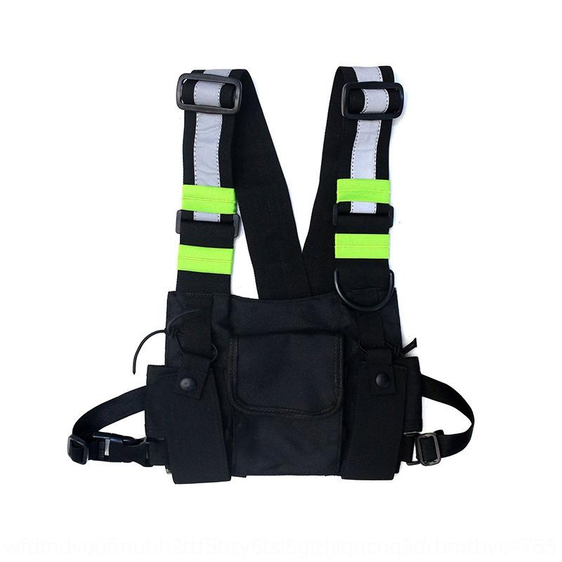 Ogty Brust Dame Taille Tasche Mode Leder Pack Outdoor Casual Crossbody
