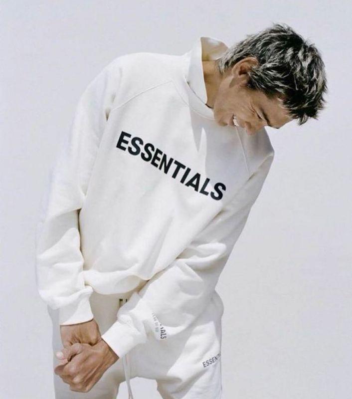 Tanrı korkusu Erkek Hoodies Sis Essentials 3 M Yansıtıcı Nakış Yüksek Sokak Moda Kadınlar Hoodie Gevşek Kazak M-2XL