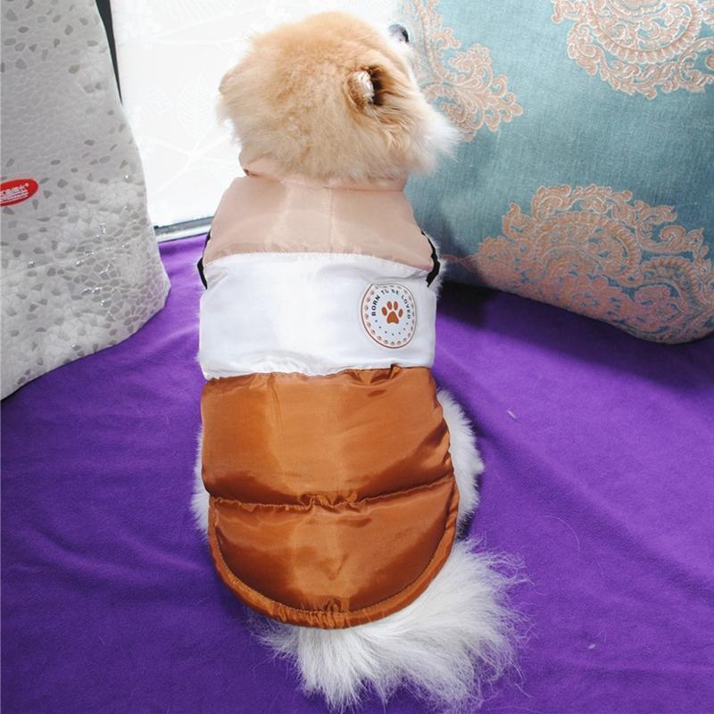 Pet Dog Одежда собака Чихуахуа мопс теплый пушистый пушистый хлопок Parkas зимнее животное щенок щенок утолщение куртки одежда ropa perro #