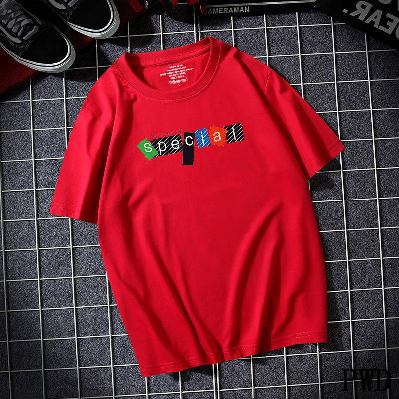Venta caliente Nuevo manga corta Hombres Camiseta sólida O-cuello suave algodón sólido Elástico transpirable hombres camiseta media manga 8 Color A-24