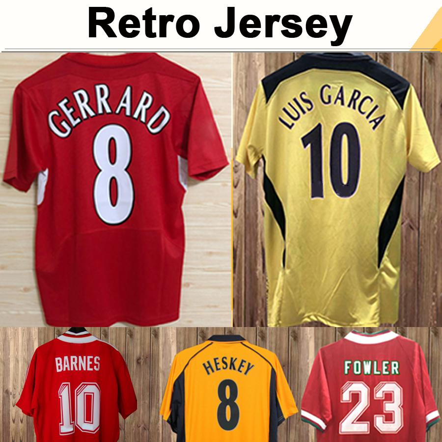1993 1995 DALGLISH HESKEY Mens Retro Soccer Jerseys FOWLER GERRARD TORRES KUYT Home Away 3rd Football Shirt Short Sleeve Adult Uniforms