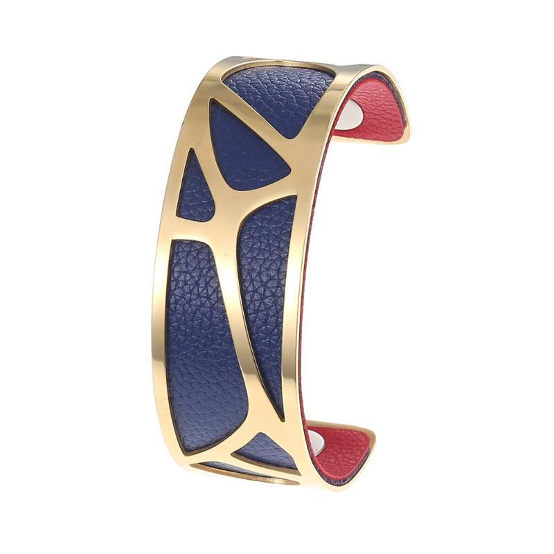 Egenstar 2021 Neue austauschbare Femme Gold Edelstahl Armreifen Armbänder Für Frauen Schmuck