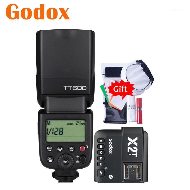 GODOX600 2.4G HSS Fotocamera Flash Flash Speedlite X2T-F Bluetooth Trasmettitore mobile Bluetooth per Fuji X-T4 T3 T20 T30 T2 T200 X100F E3 A51