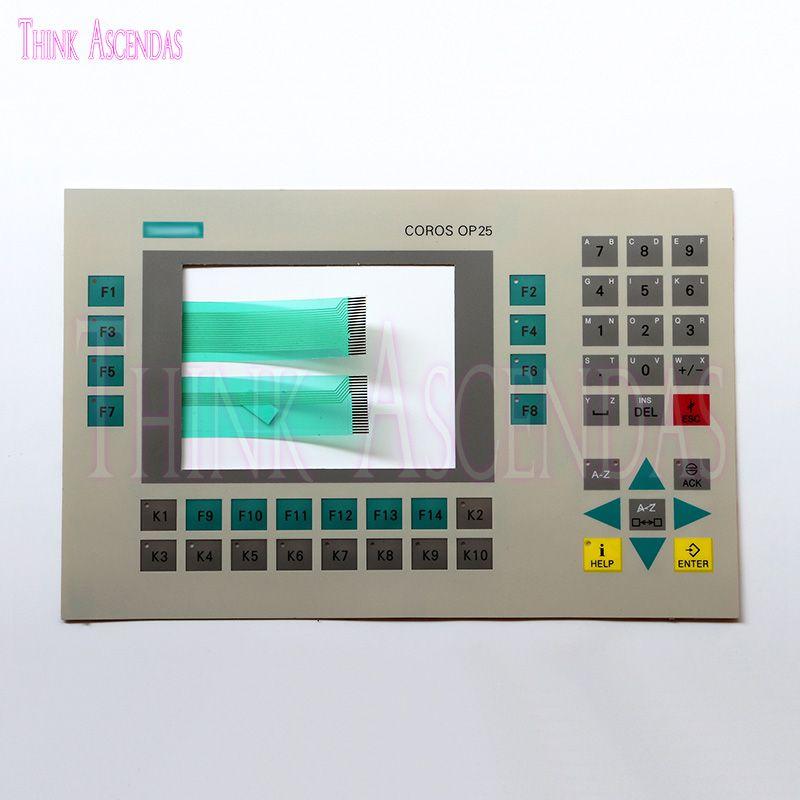 Brandneue Hohe Qualität OP25 6AV3 525 6AV3525-1A01-0AX0 Button Panel-Tastatur