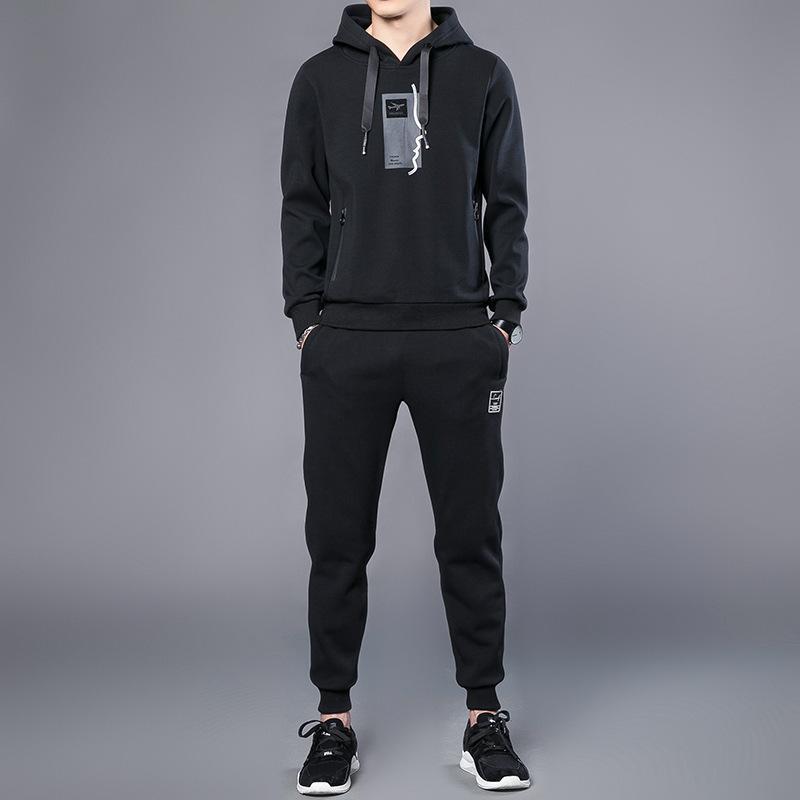 Boutique The New 2020 Automne Running Fitness Loisirs Sport Longue Manches Longues Vêtements Joker Qui habiller le costume pour homme