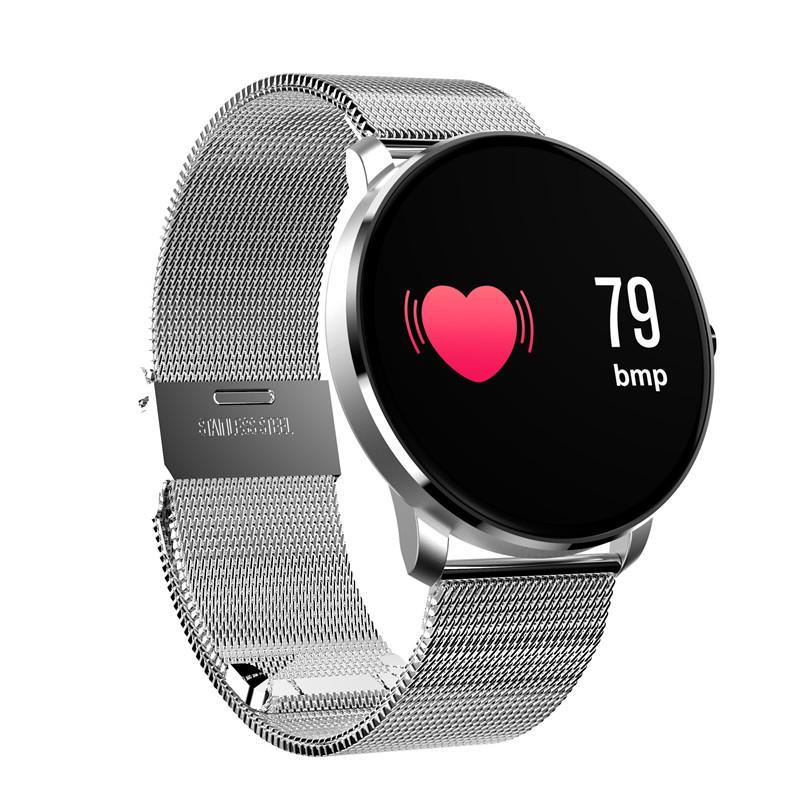 CF007S Smart Uhr Blutdruck Blut Sauerstoff Herzfrequenz-Monitor Smart Armband-Farbbildschirm-Schrittzähler Sport Armband für iPhone Android