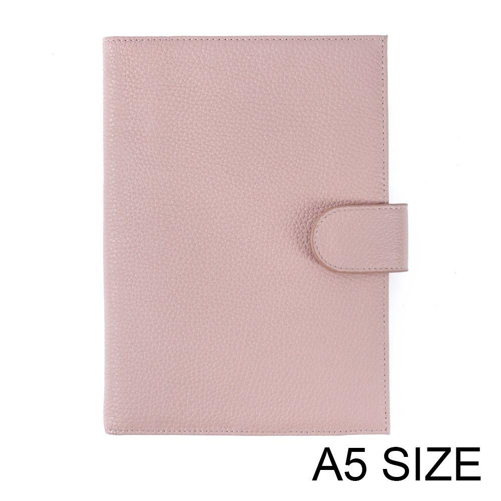 جديد وصول حقيقية الليتشي الحبوب جلد البقر جلدية A5Notebook يوميات مخطط مجلة القرطاسية المفكرة جدول الأعمال المنظم جيب كبير T200727