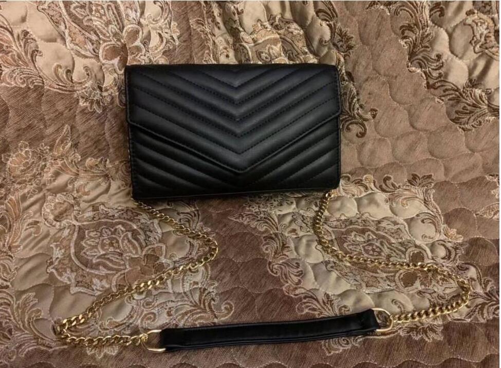 2021 أعلى جودة الذهب سلسلة حقائب الكتف حقائب أزياء السيدات حقيبة يد أعلى الأجهزة حقائب السهرة عبر الجسم أكياس YRWQA0