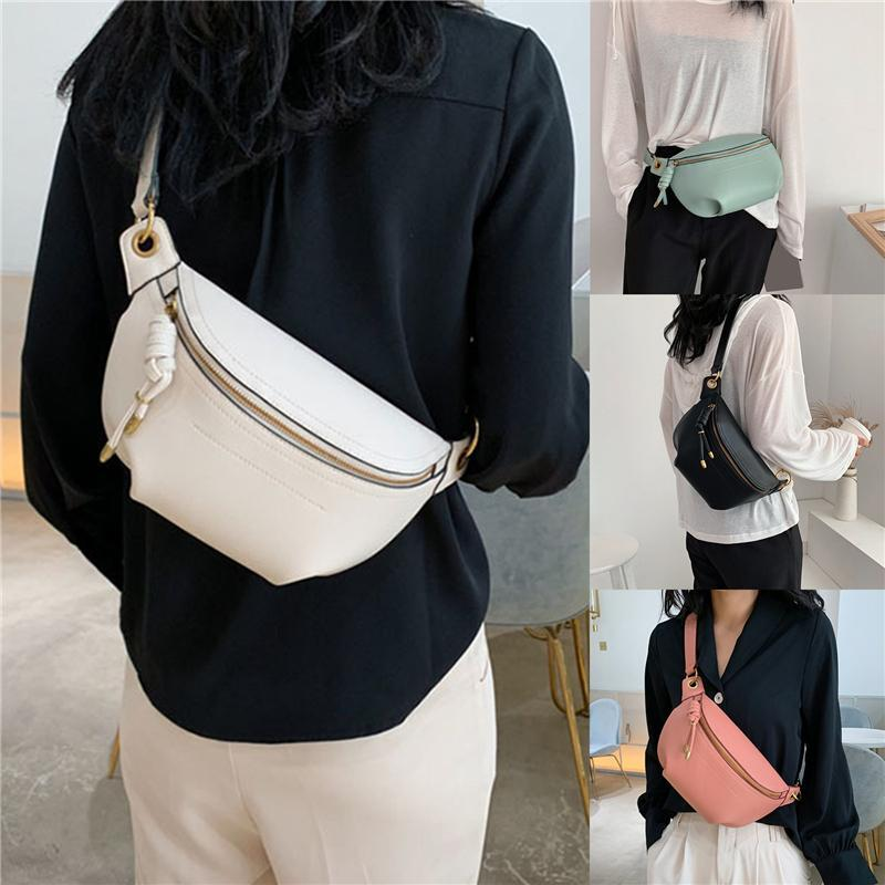 Crossbody Leather Belt Chest Fashion Bags Waist Fanny Pouch Letter Packs Women New Messenger Shoulder Wild Quality Bag High Icmin Qebvv