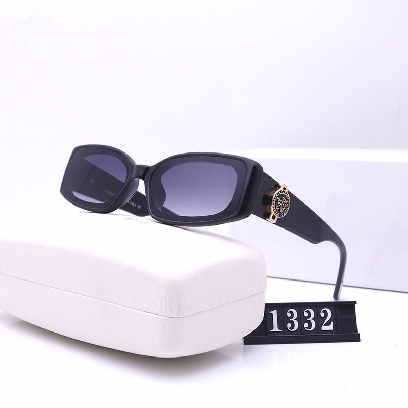 Y las mejores gafas de sol de la serie de la serie del marco de los hombres del estilo de las gafas de estilo de las mujeres nuevas Batman Luxury UV400 Protección de la moda de la moda Lense TTCP