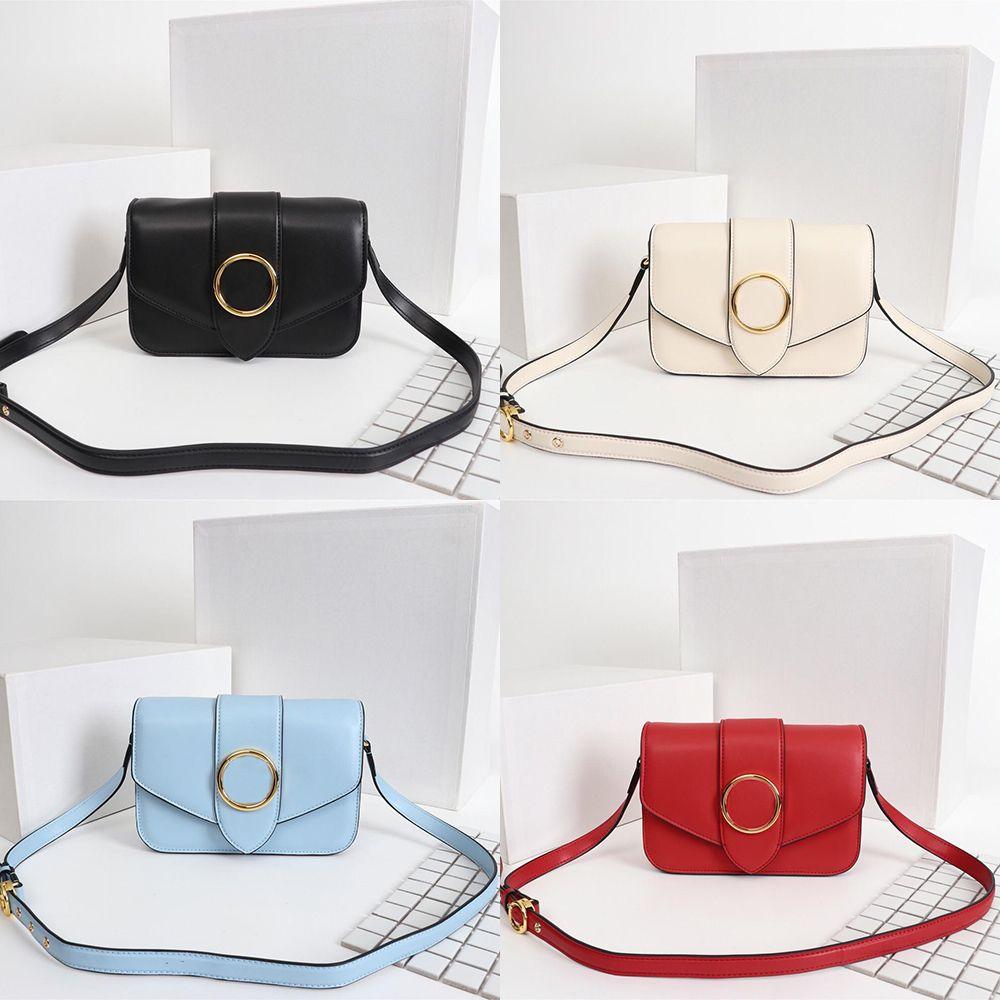 Bolso de hombro más nuevo de la diseñadora M55948 PONT 9 Handbag de alta calidad Cuero real Lady Clutch Crossbody Circle Signature Hebilla Bolso de la noche