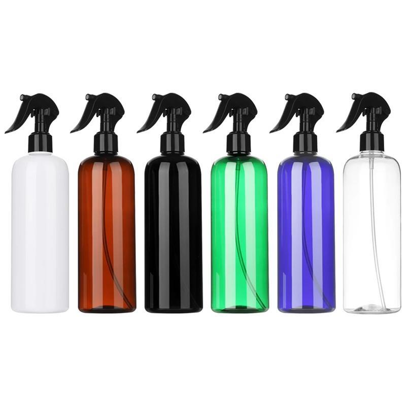 500ml fryzjerski butelka rozpylacza Pusta butelka Refillable Przeszczepianie Butelki Butelki Dozownik Opryskiwacz wody do przenoszenia podróży