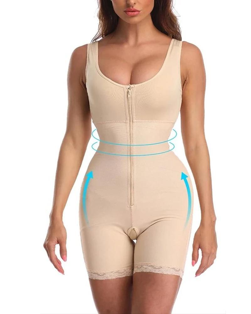 Yüksek Bel Karın Asansör Vücut Fajas Reductoras Üst Vücut Şekillendirici Sauna Takım Elbise Patlama Modelleri Artı Boyutu Tek Parça Bodysuits Firma Ince Z1210