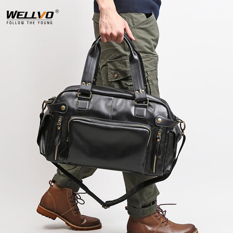 VIP Men's Soft Leather Briefcase For Laptop Tote Business Shoulder Messenger Handbag Leisure Large Travel Bags Black XA158C Q0112