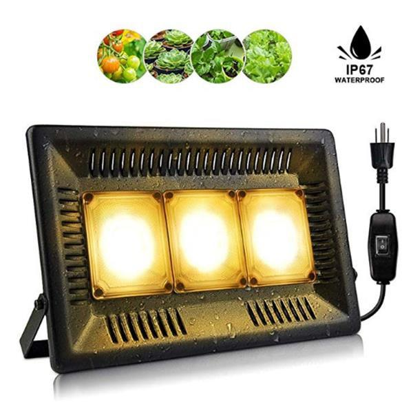 450W Square full spectrum Led Grow Light black High Efficiency COB Technology Waterproof high quality Grow Lights CE FCC ROHS wholesale