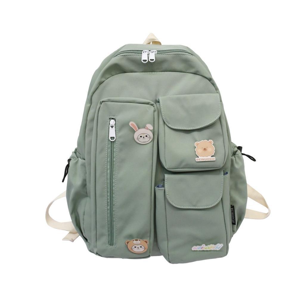 Chongsukei 2020 New Backpack ins bolsa de pano estudante japonês multi-usa grande capacidade pequena e bonito saco de escola A1113