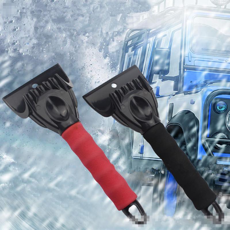 자동차 앞 유리 얼음 스크레이퍼 자동 아이스 제거 깨끗한 도구 자동차 아이스 스크레이퍼 눈 제거제 삽 긁힘 스크래핑 도구