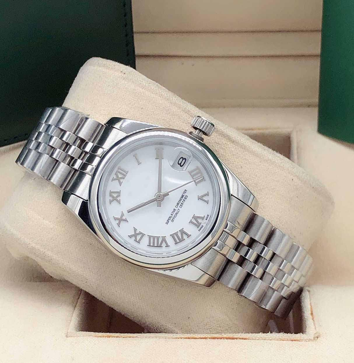 Ladies Watch Sapphire Mirror 31mm Automatic Mechanical Watch High Quality Stainless Steel Date Waterproof Watches Fashion Classic Wristwatch