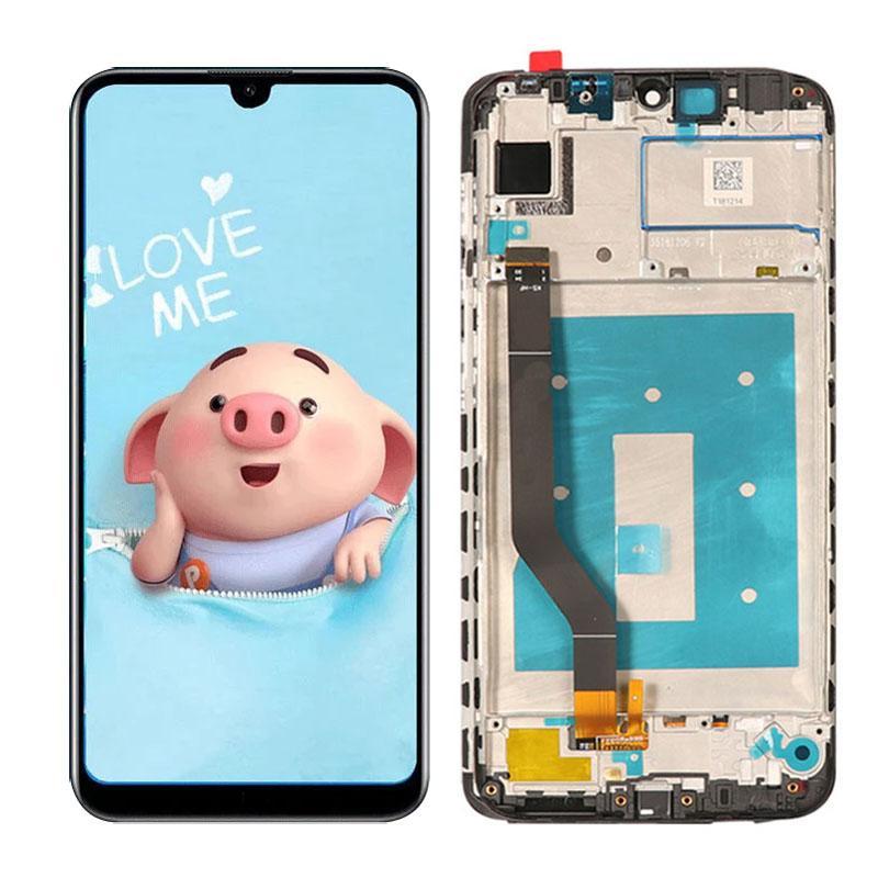 OriginalE LCD 6.26 pulgadas para Huawei Y7 2019 Pantalla LCD Pantalla táctil Montaje digitalizador Piezas de repuesto al por mayor