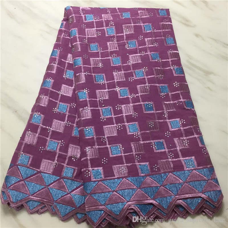 Swiss Voile Encaje en Suiza 2020 Tela de encaje africano de alta calidad Embroiderey Nigerian Encaje Telas para Dress PL11523