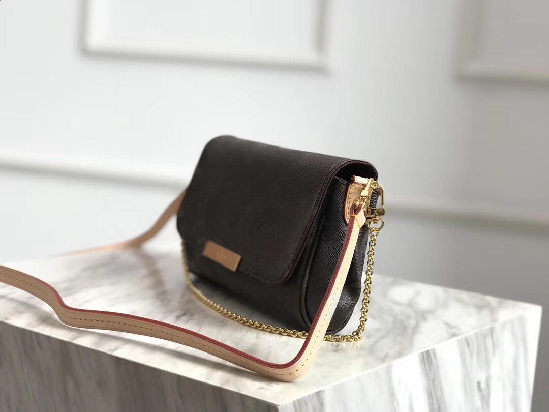 Épaule m0nogramme meuille de qualité femme cadeau célèbre sac à main en cuir véritable sac à main 2020 Hobo M40718 Cuir préféré MM VRAI HIGHT ECHAPPHIER OAKW
