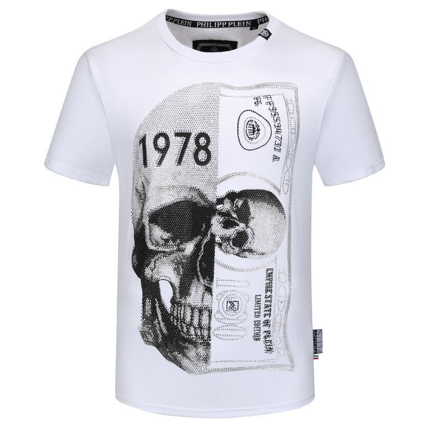 Ummer Paris para hombre ropa de lujo taladro caliente camiseta diagonal letra impresión t shirt moda r tshirts casu; 912