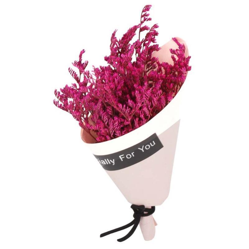 Зеродис Искусственные Цветы Букет Высушенный Цветок Натуральный Мини Букет Цветы Свадебные Украшения Домашняя вечеринка