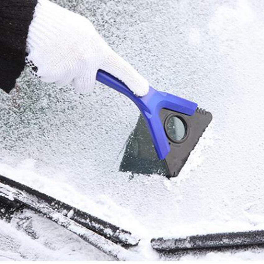 스노우 리무버 마법의 창 앞 유리 자동차 아이스 스크레이퍼 해동 리무버 청소 청소 스노우 리무버 도구 CYZ2935