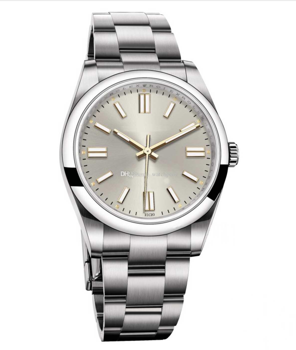 Maestro, orologio da uomo, struttura in acciaio inox, movimento meccanico automatico, stile sportivo, vetro zaffiro, vendita all'ingrosso al dettaglio, 36 mm, 41mm