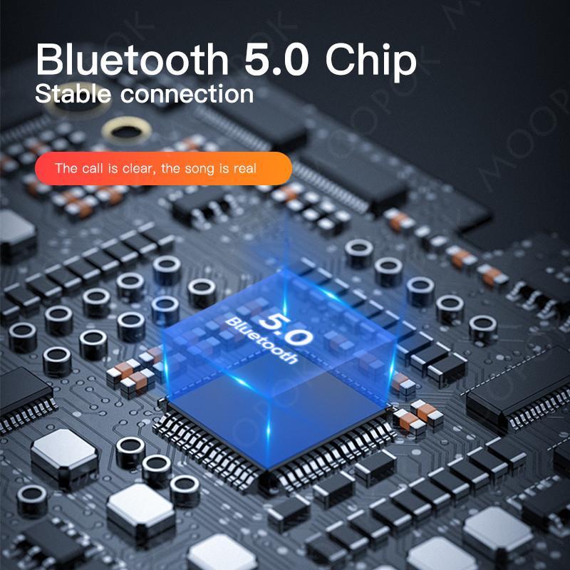 Беспроводные наушники с микрофоном Mics TWS Bluetooth-наушники сенсорное управление 9D HIFI стерео наушника Спортивные наушники спортивные водонепроницаемые гарнитуры Super Standby