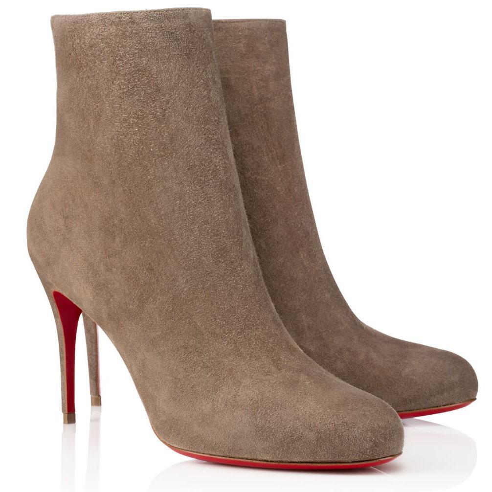 Inverno mulher bota de tornozelo, luxurys designers vermelho sola saltos, fino alto salto curto bota vermelha botas vermelhas adox eloise espólio preto cáqui
