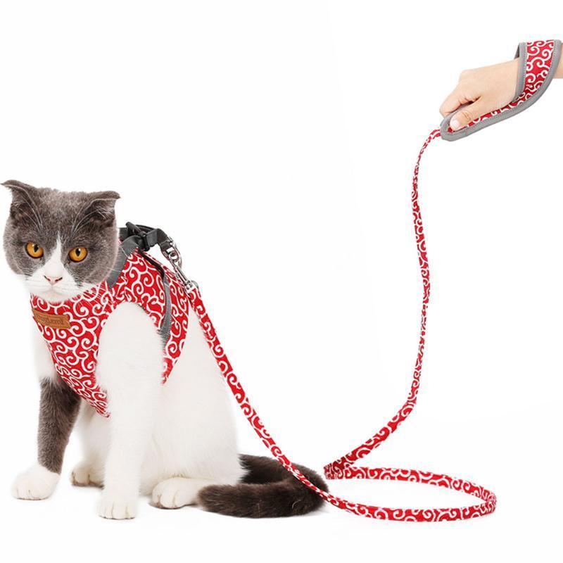 Nuevo arnés y correa para perros de mascota para pequeños perros medianos gato arneses chaleco Perrito Correa de pecho accesorios para mascotas