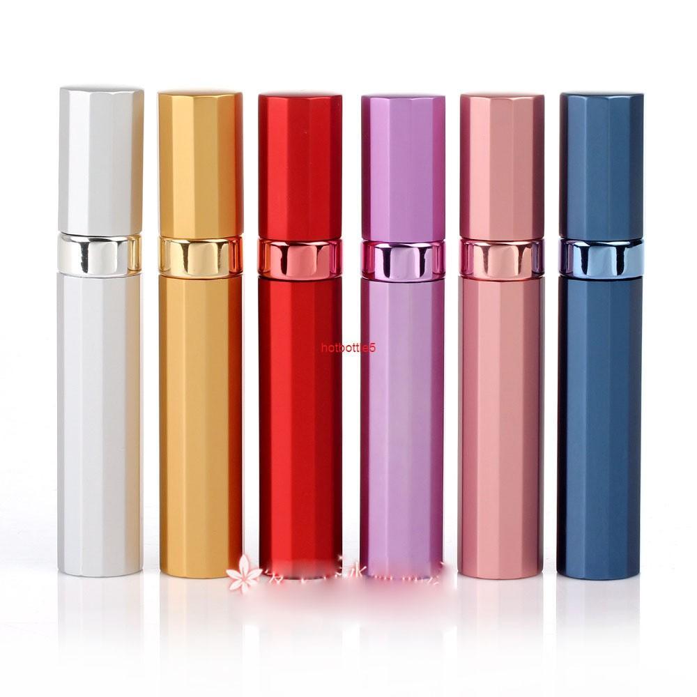 Heißer verkauf 8 ml 20 stücke-lot parfüm spray flasche glas mini leere kosmetische container extrusion flaschegood qualität