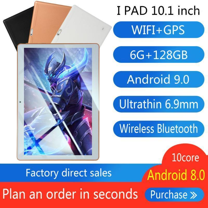 Tablet PC 10 Inch Android 9.0 Octa Core Original Powerful 6GB RAM 128GB ROM IPS Dual SIM Phone Call Tab Tablets1