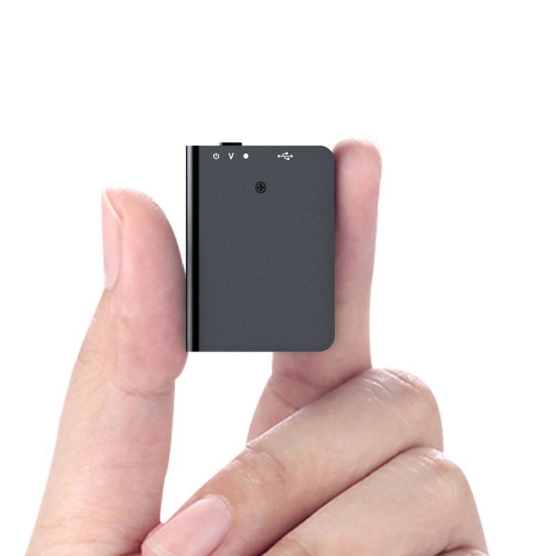 QZT Mini Recorder de sonido 16GB grabador de voz Dispositivo de grabación de audio digital Profesional Pequeño USB MP3 Voz Activada