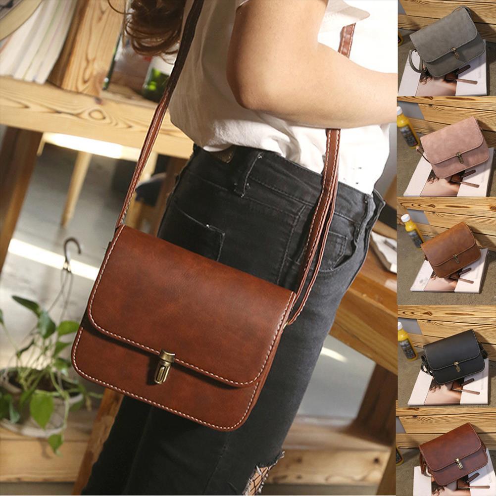 امرأة حقائب سيدة جلدية حقيبة يد حقيبة الكتف حمل رسول حقيبة crossbody الكتف للنساء 2019 الأزياء خمر bolsas p