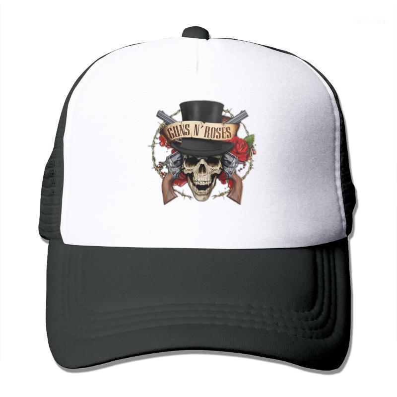 Berretto da baseball da uomo Donna Hip Hop Cap Guns N Rose Body Metal Band Quick Dry Traspirante uomo cappello Bone Bone Trucker1