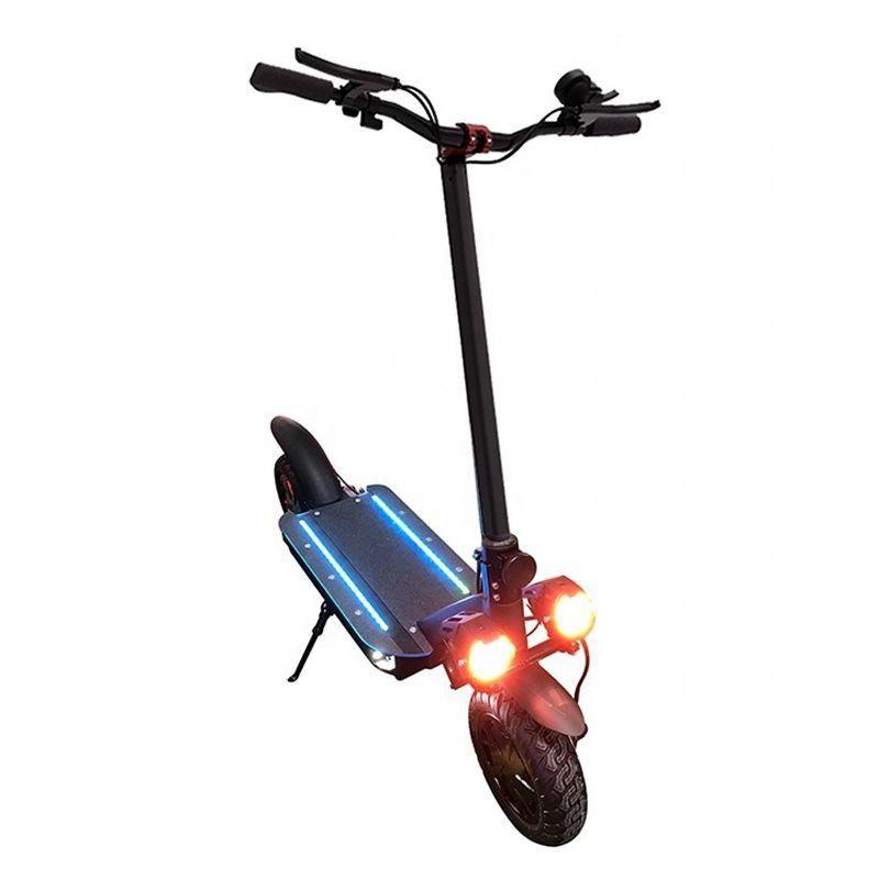 ECORIDER E4-9 AUS RAUM ROOTER ROOTER 3600W 60V Erwachsene Zwei Räder Faltbarer Kick Roller Elektrische Doppel-LED-Scheinwerfer