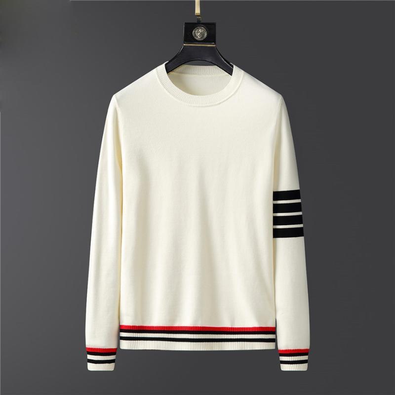 2021 Pull Hommes Vêtements Automne Hommes Hommes Vêtements À Manches Longues Pullover Tricoté Plus Taille Taille Haute Qualité Coréenne Style Tops