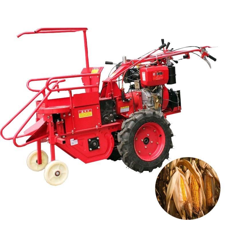 Sıcak satış yüksek kalite paslanmaz çelik el itme küçük mısır hasat mini Mısır hasat / mısır biçerdöver Fiyat