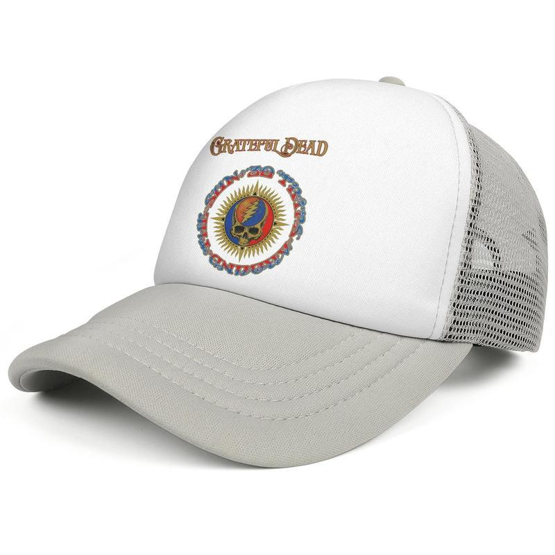 Grateful-Song-Dead-Lyrics-30 Trips Around the Sun Album Fashion Trucker Cap Adjustable Baseball Hat rock band 5 1 popular The Grateful