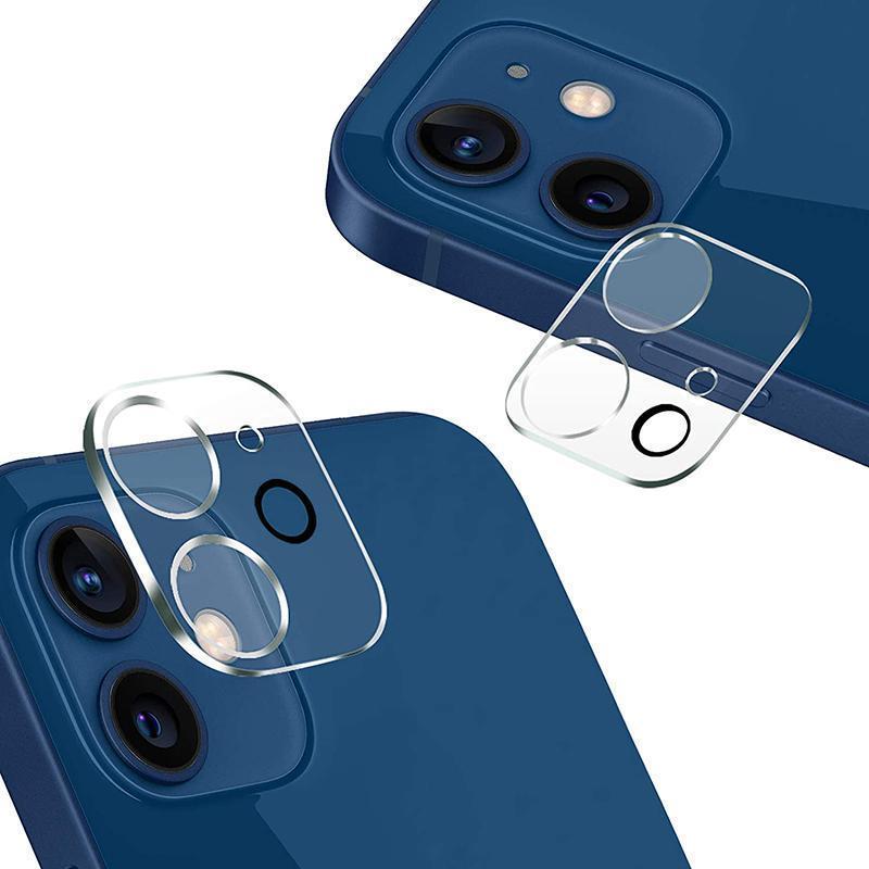 Tam kapak temperli cam kamera ekran koruyucu iphone 12 mini 11 pro max x xs xr