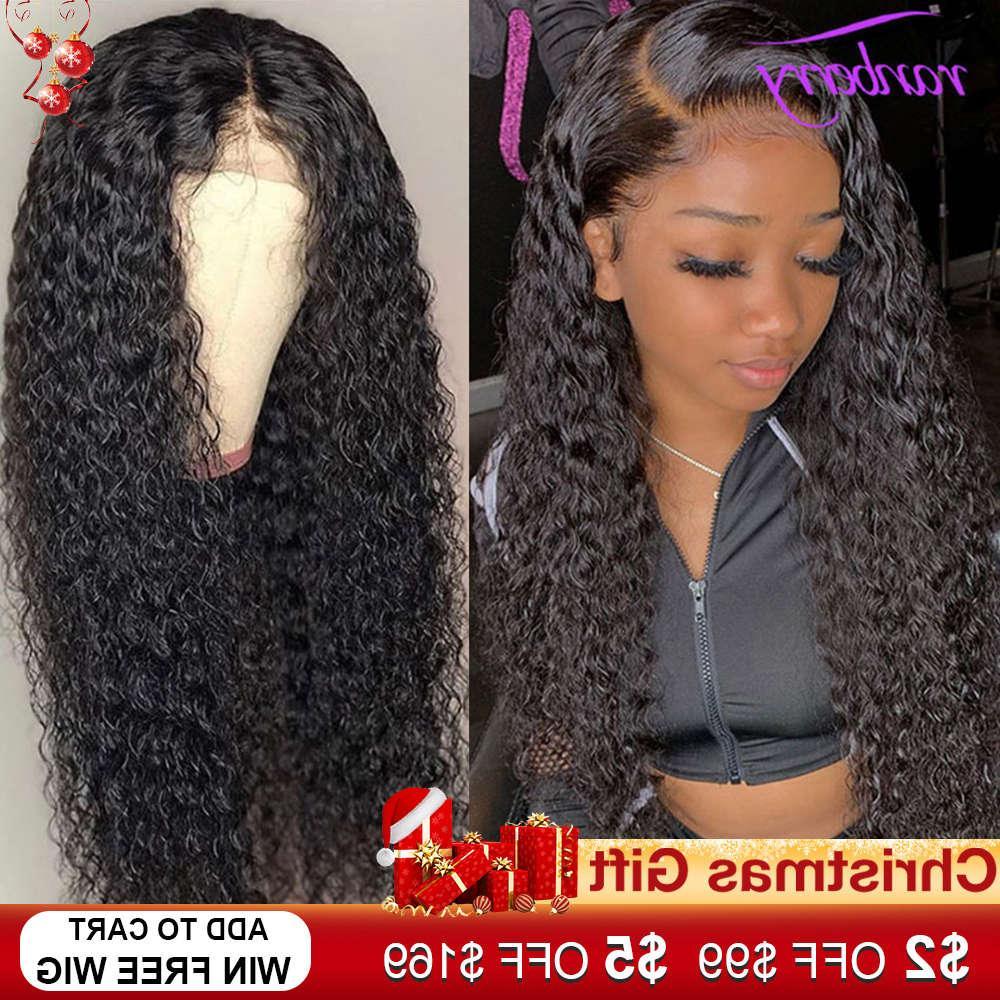 Cranberry 4x4 cierre peluca Remy peruano onda de agua encaje frente cabello humano pelucas de pelo para mujeres pre arrolladas natural cabello natural