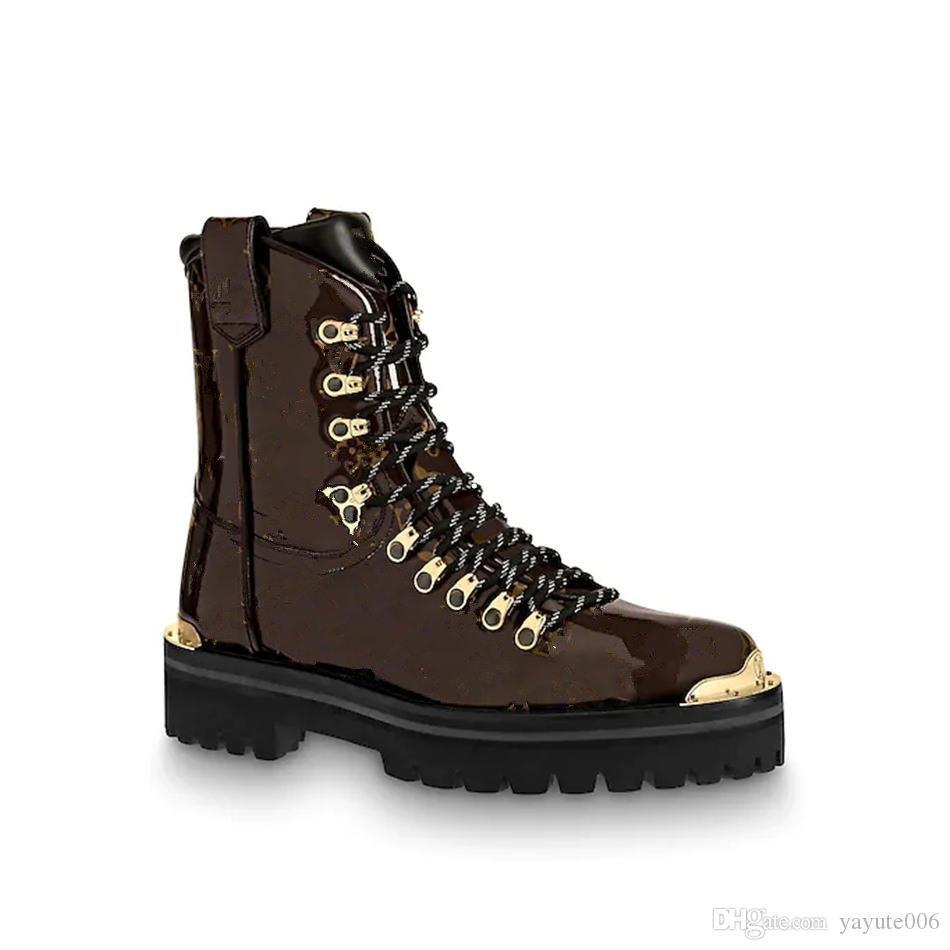 18SSS de luxe de luxe marque hommes chaussures spécifiques classe un cuir de vachette mat en cuir italien Soles en cuir de tendance à la mode Bottines décontractées pour hommes
