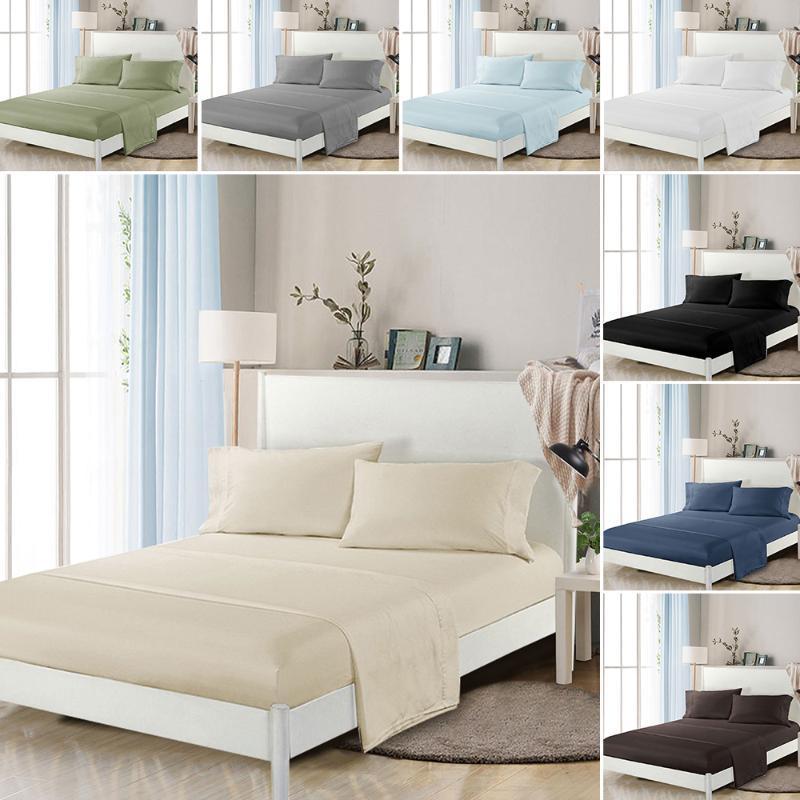 Bettwäsche-Set Home Textile Kingsize-Bett-Set, Bettwäsche, Bettbezug flaches Blatt Kissen- Großhandel