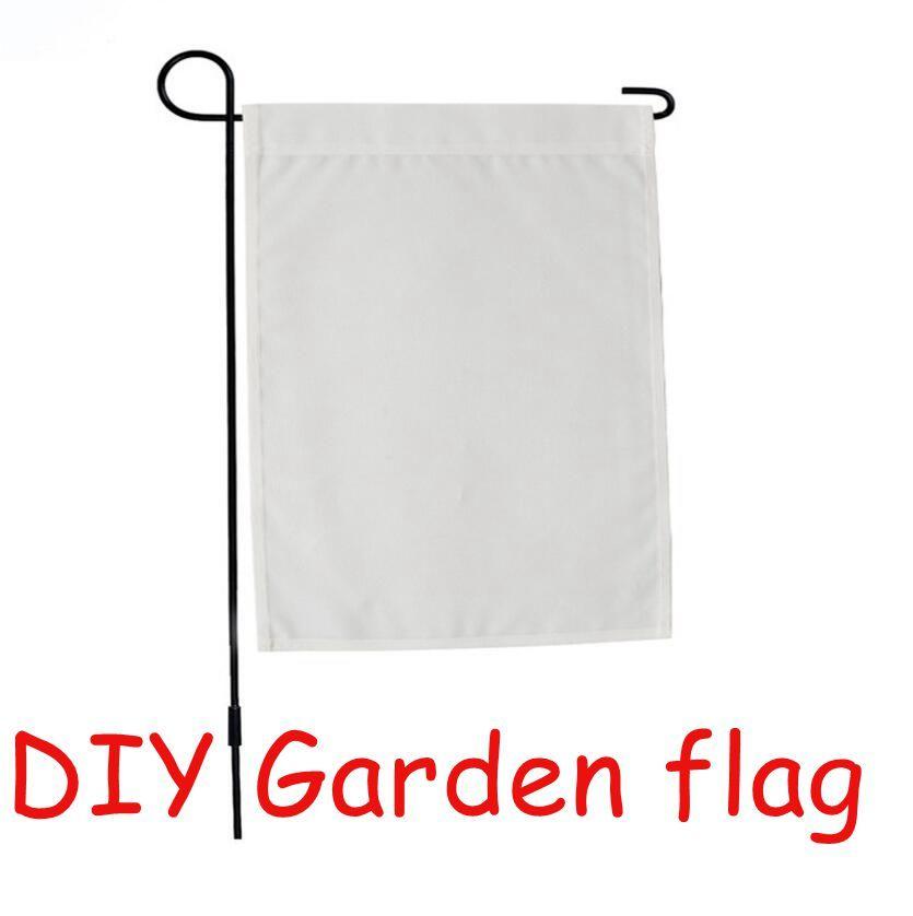 الفراغات التسامي حديقة العلم الأمريكية أعلام حديقة الحرارة ترنر الطباعة حديقة راية لافتات فارغة حجم 30.4 * 40.5cm dhl مجانا